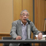 高橋敏名誉教授の熱血講義