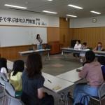 俳人日下野由季さんと親子で俳句入門